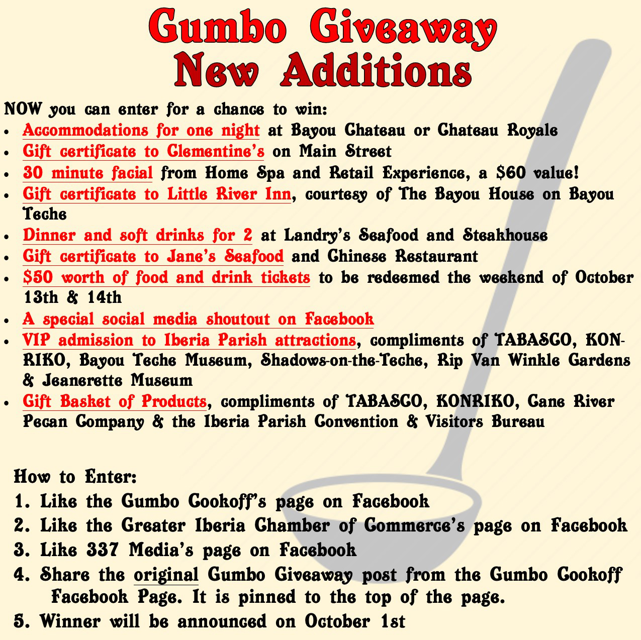 Visit World Championship Gumbo Cookoff on Facebook